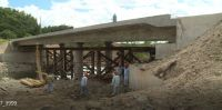 VEHICULAR ACCESS RESTORED AFTER COLLAPSE OF HAMPSTEAD BRIDGE