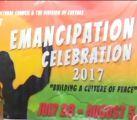Emancipation Celebration 2017 Launched
