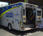CANADIAN CHARITY DONATES AMBULANCE TO DOMINICA FIRE AND AMBULANCE SERVICE