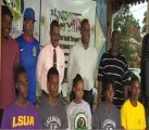 Six Student Athletes Receive First University Awarded Sports Scholarships